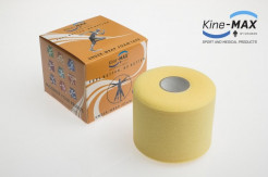 KINE-MAX UNDER WRAP FOAM PODTEJPOVACÍ PÁSKA 7cm x 27m - Žlutá