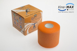 KINE-MAX UNDER WRAP FOAM PODTEJPOVACÍ PÁSKA 7cm x 27m - Oranžová