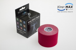 KINE-MAX CLASSIC KINESIO TEJP 5cm x 5m - Červená