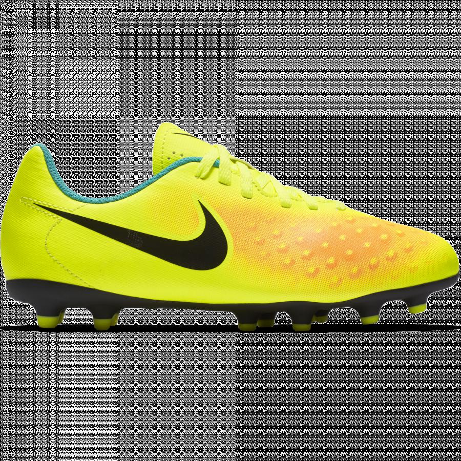 NIKE JR MAGISTA OLA II FG KOPAČKY DĚTSKÉ - Neon žlutá č.1 ... b1fbfe7d41