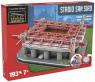 3D PUZZLE FOTBALOVÝ STADION - SAN SIRO - Bílá, Červená č.1