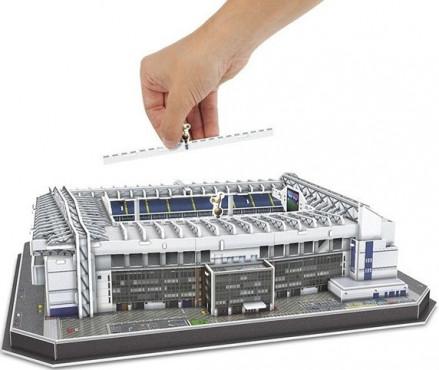 3D PUZZLE FOTBALOVÝ STADION - WHITE HART LANE (TOTTENHAM) - Bílá č.3